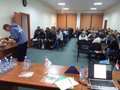 Черговий семінар осені зібрав повний зал учасників
